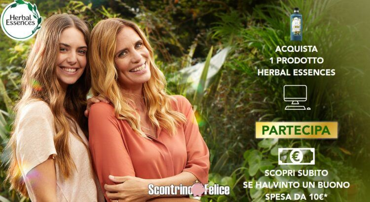Concorso Herbal Essences vinci Buono Spesa da € 10