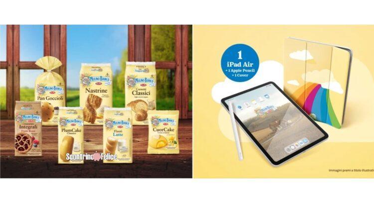 concorso Mulino Bianco Pan Di Stelle Felici e Connessi vinci iPad