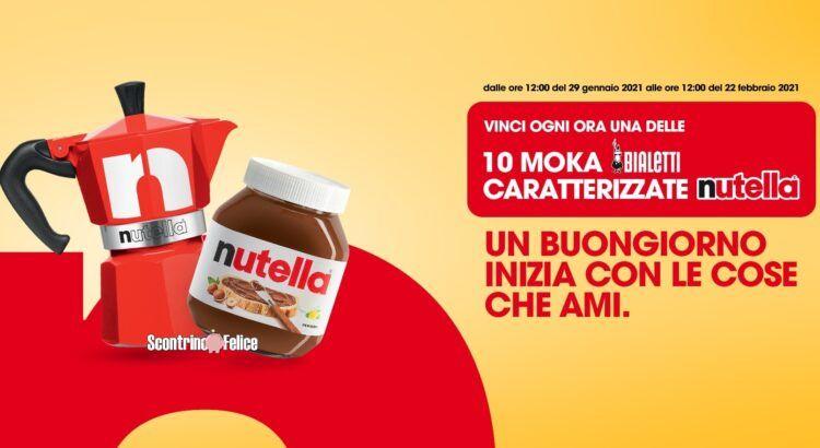 Concorso Nutella vinci Moka Bialetti