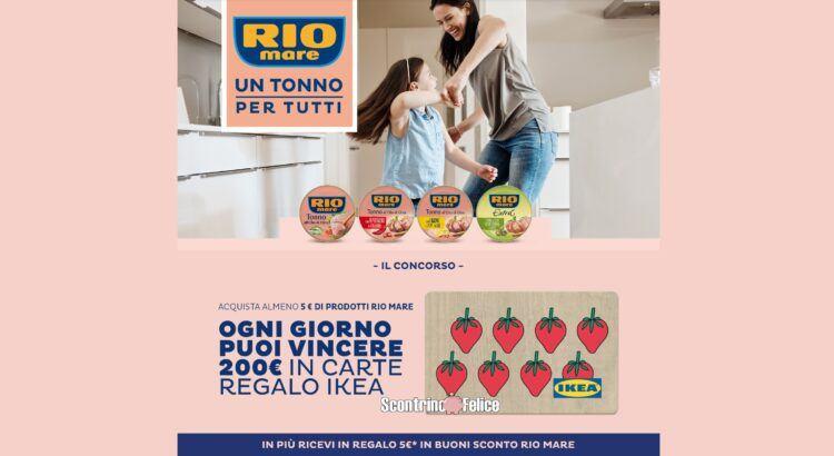 """Concorso Rio Mare """"Un tonno per tutti sesta edizione"""