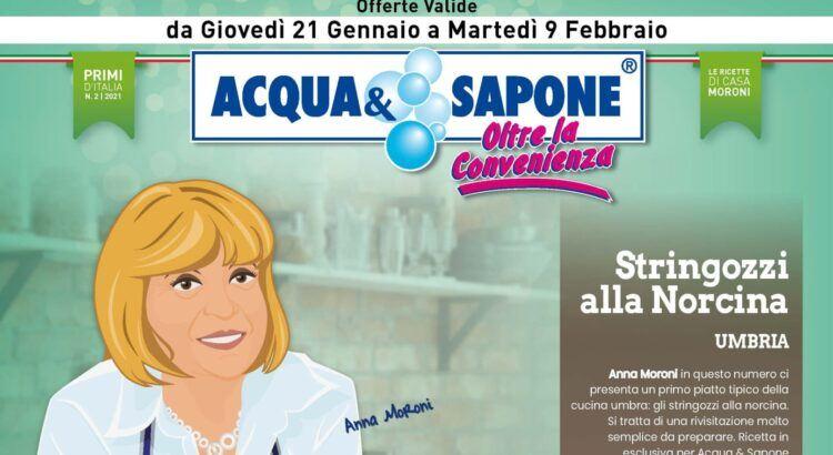 Volantino Acqua e Sapone valido dal 21-01 al 09-02 2021