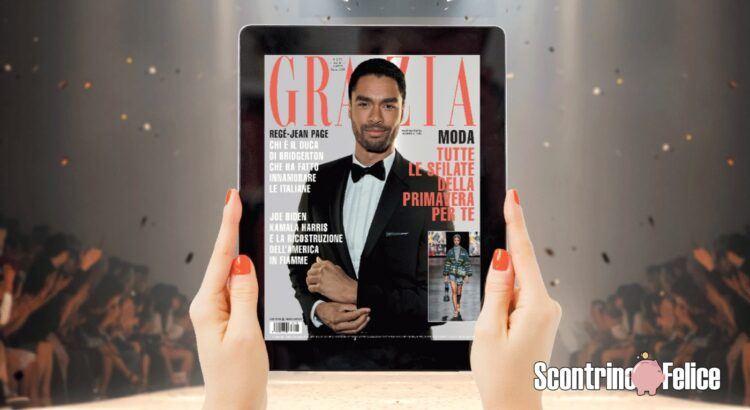 1 anno di abbonamento digitale a GRAZIA gratis