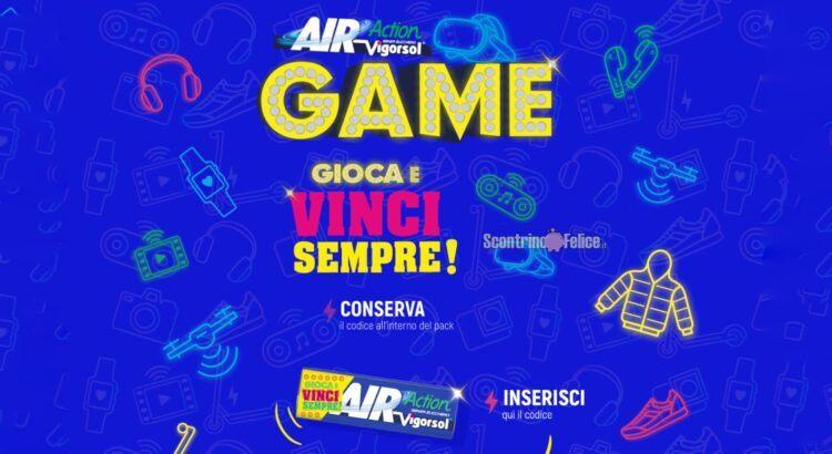 Concorso Air Action Vigorsol Game