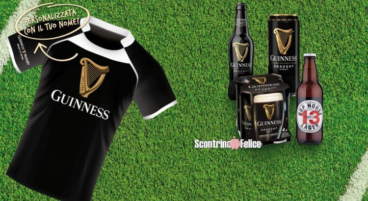 Concorso Rugby Guinness 2021