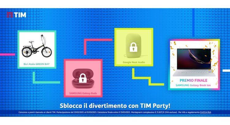 Sblocca il divertimento con TIM Party