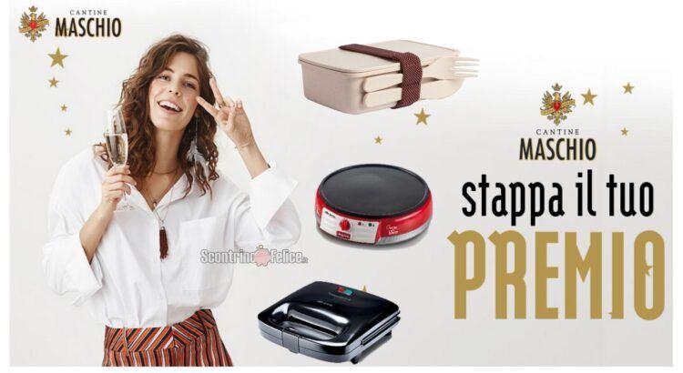 Cantine Maschio Stappa il tuo premio richiedi lunchbox GECOline, Sandwich o Crepes Maker Ariete