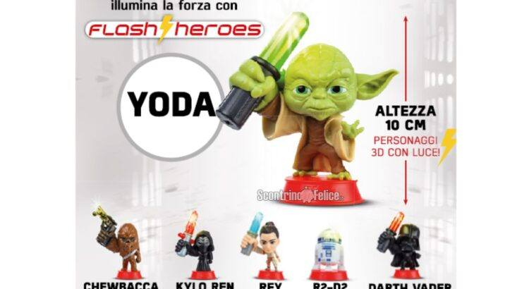 collezione Star Wars Flash Heroes 2021 Eurospin