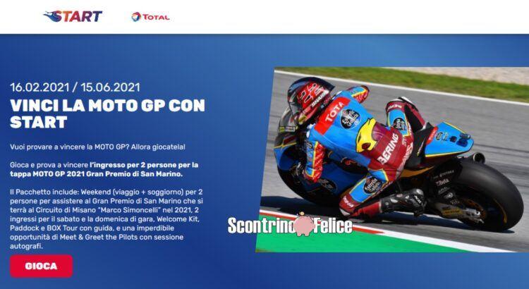 Vinci la moto GP e abbonamenti a La Gazzetta dello Sport con START