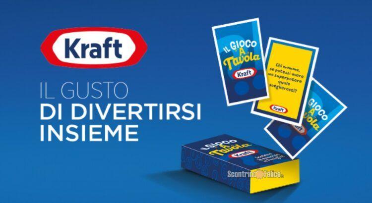 Concorso Kraft Il Gusto Di Divertirsi Insieme