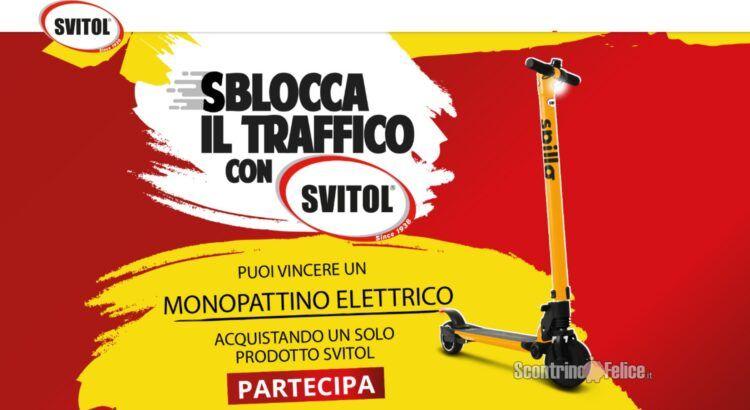 Concorso Sblocca Il Traffico Con Svitol vinci Monopattini elettrici Nilox