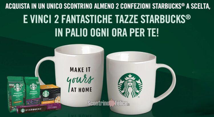 Concorso Starbucks 2021 vinci 2 fantastiche tazze