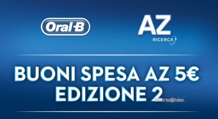 Acquista un multipacco AZ e ricevi un buono spesa da 5 euro come premio certo