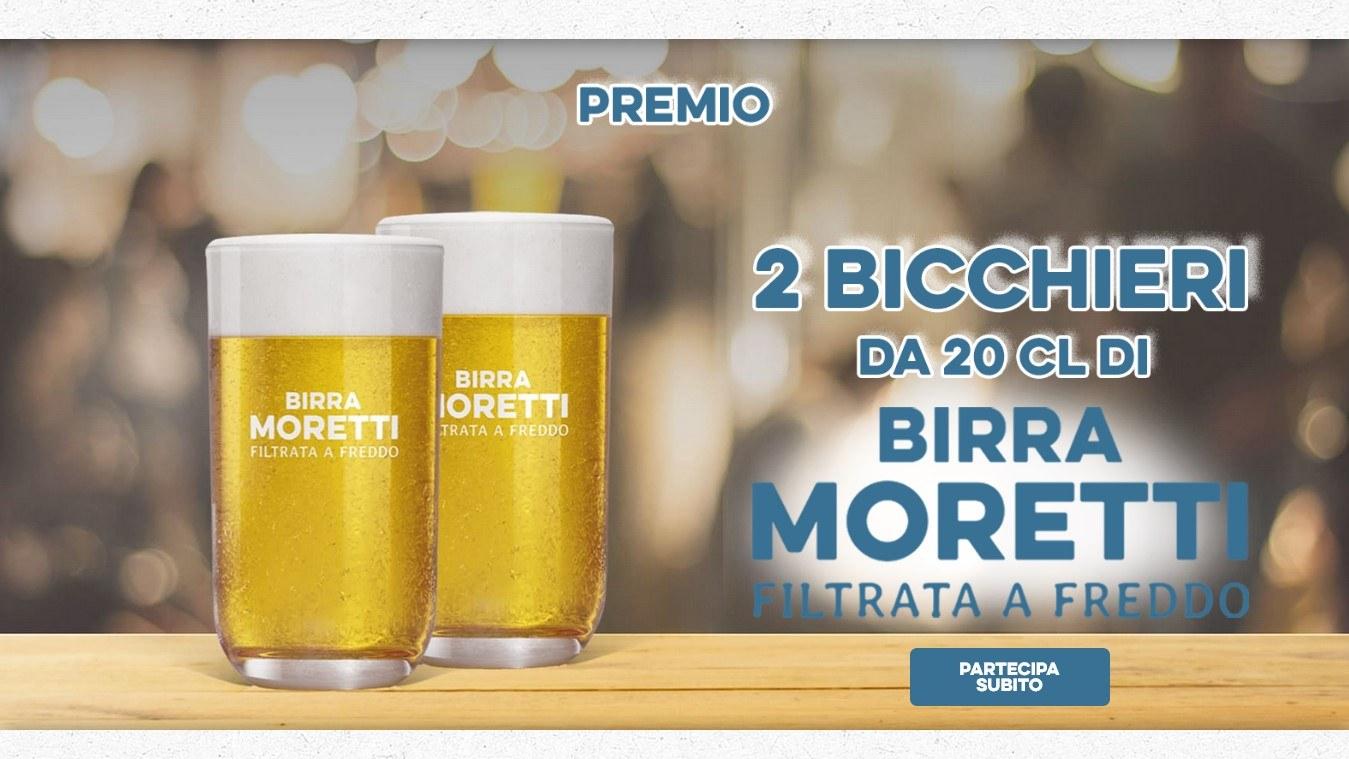 www.scontrinofelice.it birra moretti filtrata a freddo richiedi 2 bicchieri come premio certo birra moretti filtrata a freddo 2 bicchieri come premio certo Birra Moretti Filtrata a Freddo: richiedi 2 bicchieri come premio certo