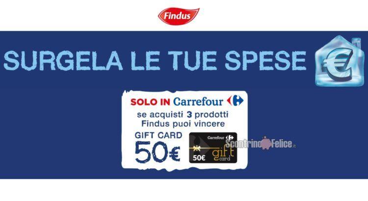 Concorso Findus da Carrefour Surgela le tue spese