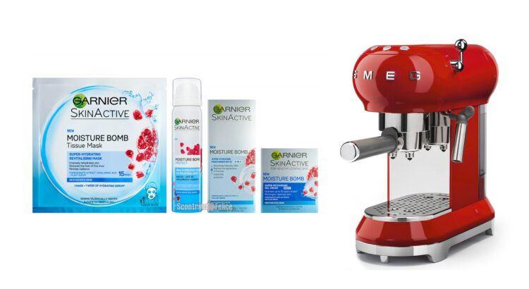 Concorso Garnier Skincare vinci macchine caffè espresso SMEG