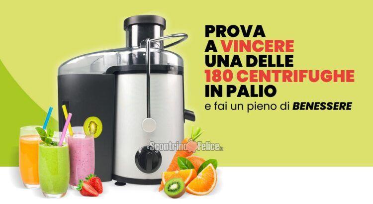 Concorso gratuito Fai il pieno di vitamine vinci 180 centrifughe Beper