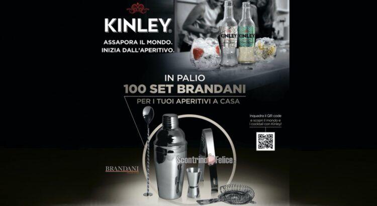 Concorso Kinley e Coca Cola vinci set Brandani aperitivo