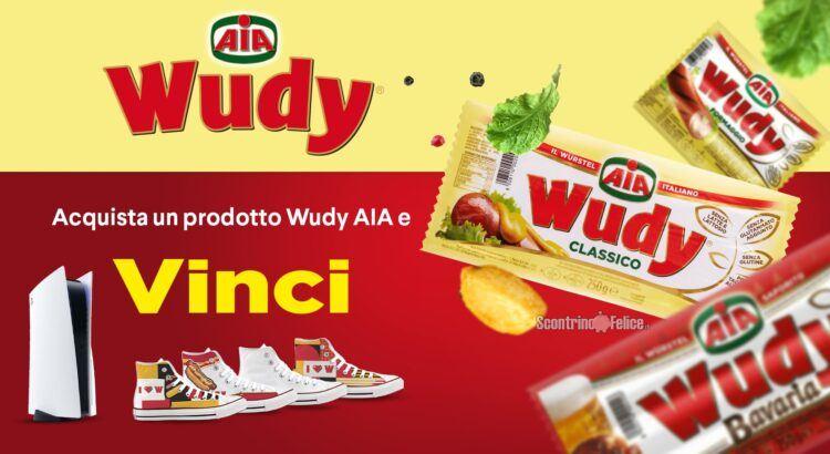 Concorso Wudy Aia 2021: vinci Sneakers personalizzabili e Play Station 5