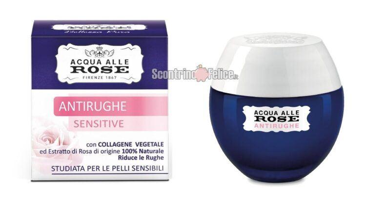 Diventa tester Acqua Alle Rose Antirughe Sensitive