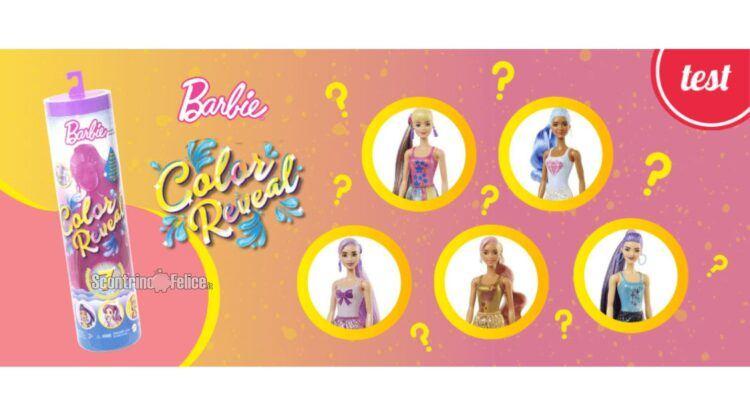 Diventa tester Barbie Color Reveal Shimmer