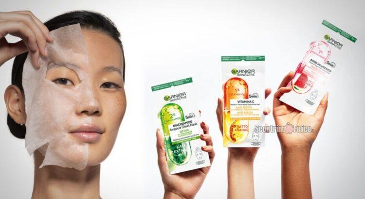 Ti piacerebbe provare la maschera in tessuto ampolle di Garnier, in grado di ridare nuova vita alla pelle del tuo viso in soli 5 minuti, ed esprimere la tua opinione? Candidati come tester Garnier