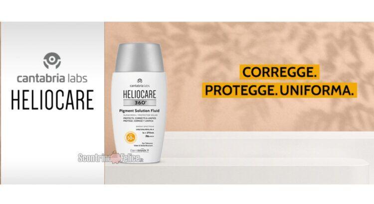 Diventa tester Heliocare 360° Pigment Solution Fluid