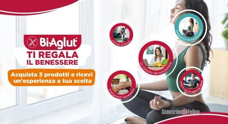 Biaglut per il benessere acquista 3 prodotti e ricevi 1 esperienza a tua scelta