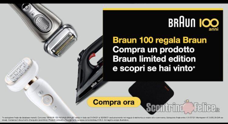 Concorso Braun 100 regala Braun vinci un orologio o una sveglia