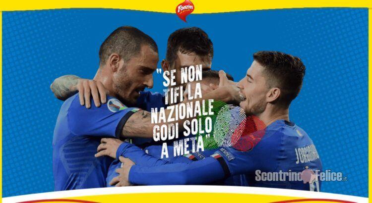 Concorso Fonzies Se non tifi la nazionale godi solo a metà vinci Magliette della nazionale italiana di calcio