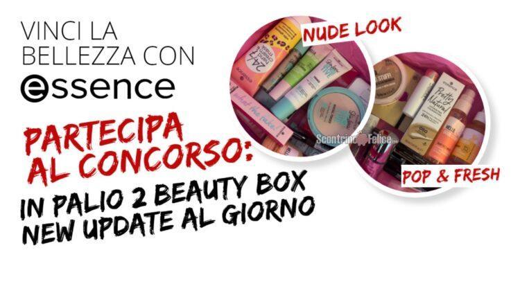 Concorso gratuito essence vinci beauty box