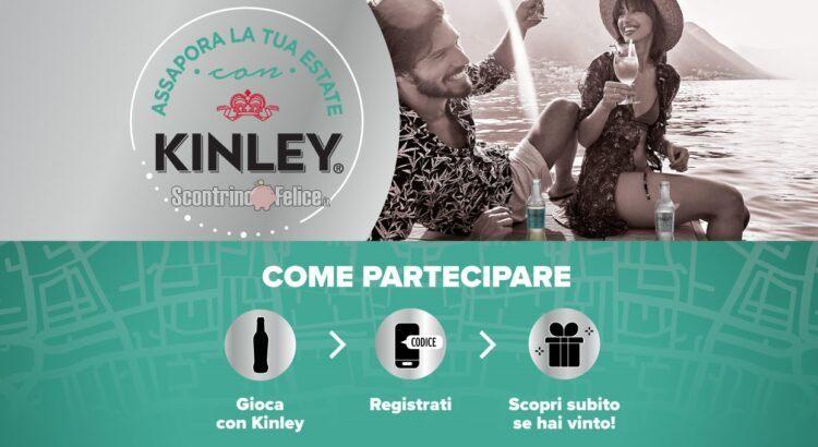 Concorso gratuito Kinley vinci set di bicchieri da cocktail e voucher viaggio da 1000 euro