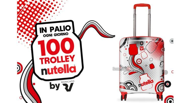 Concorso Nutella Trolley Roncato 2021