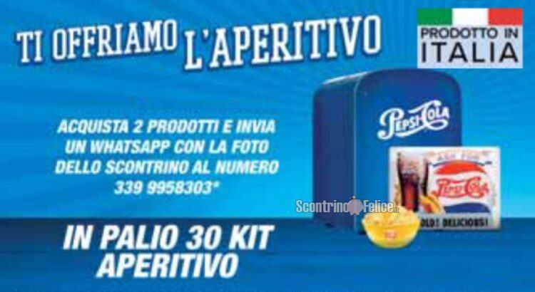 Concorso Pepsi Lay's Gatorade Doritos Ti offriamo l'aperitivo da Carrefour vinci Kit Aperitivo