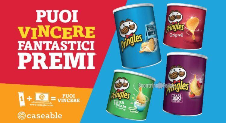 Concorso Pringles vinci buoni caseable.com da 30 Euro