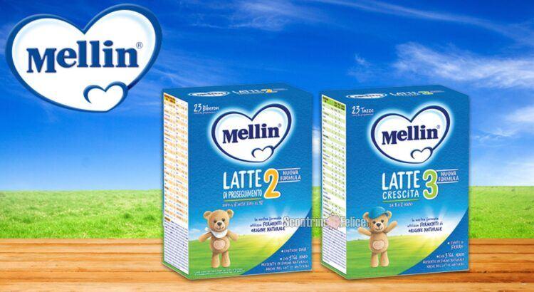 Diventa tester latte Mellin Proseguimento 2 e Crescita 3