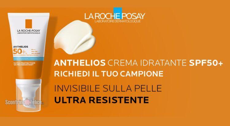 campione gratuito di Anthelios Crema Idratante SPF50+ La Roche-Posay