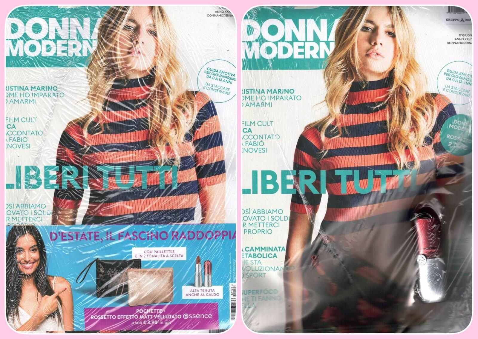 %name Affari in edicola: Donna Moderna + Rossetto Essence + Pochette