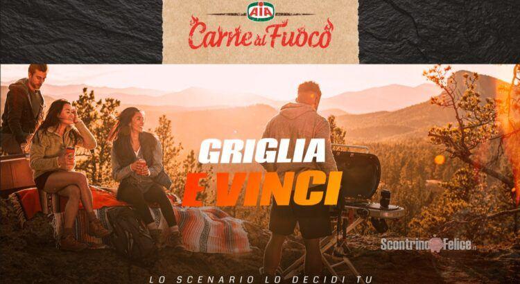 Concorso AIA Griglia e Vinci carne al fuoco in palio un Barbecue Weber Traveler e Gift Card Idea Shopping da 100 euro