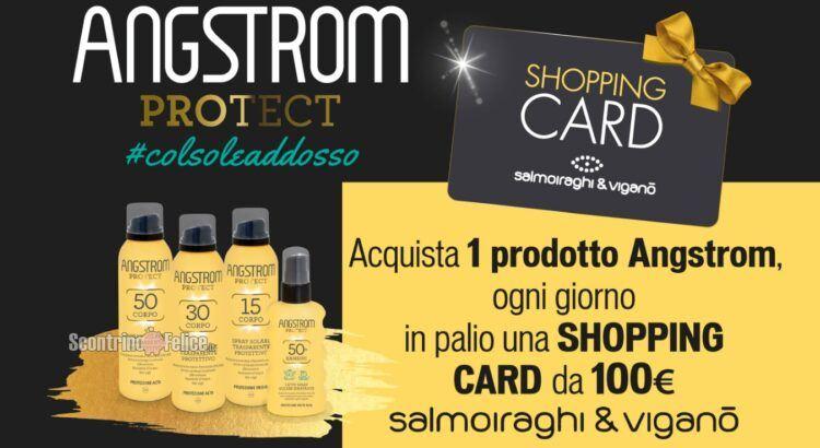 Concorso Angstrom Al sole con stile in palio 61 Gift Card Salmoiraghi&Viganò da 100 euro