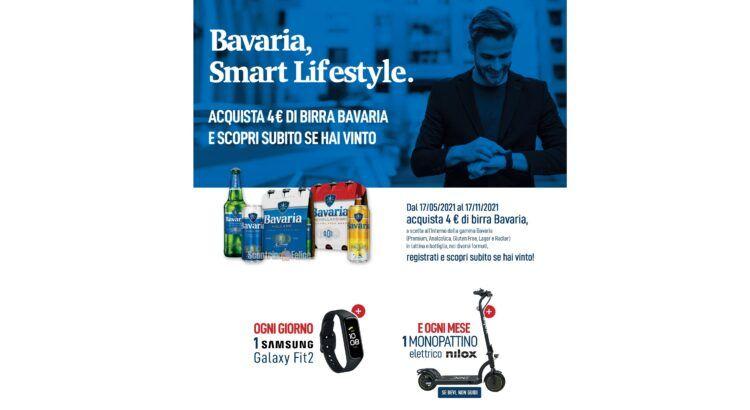 Concorso Bavaria Smart Lifestyle in palio Samsung Galaxy Fit 2 SM-R220 e Monopattini elettrici Nilox 8 Five