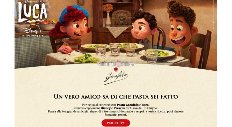 Concorso gratuito Pasta Garofalo Amici per la pasta
