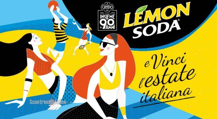 Concorso Lemonsoda Vinci l'estate italiana in palio GoPro Hero9, iPhone 12 Pro, forniture di prodotti e gift card Zalando