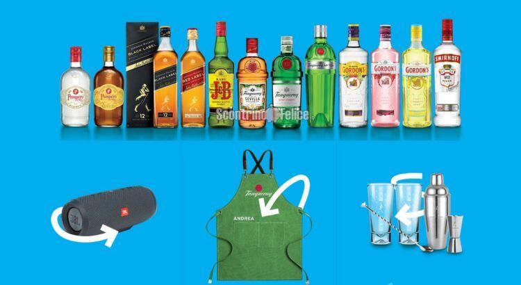 Concorso Let's Cocktail your Summer vinci speaker JBL, grembiuli personalizzati e kit cocktail