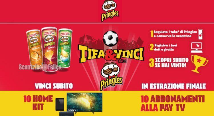 Concorso Pringles Tifa e Vinci da Esselunga