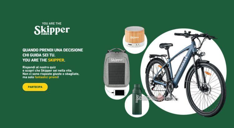 Concorso Skipper You are the Skipper vinci premi Eco friendly