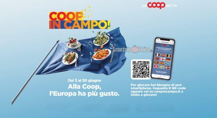 Gioca e vinci gratis con Coop in campo in palio 100 000 premi a settimana