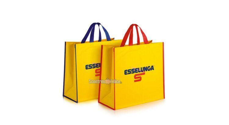Borsa spesa Shopper Esselunga in regalo