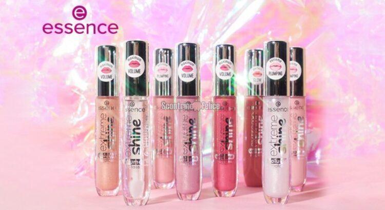 Vinci gratis 10 kit di 8 lucidalabbra Essence extreme shine volume