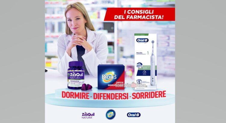 Cashback Dormire difendersi sorridere con BION 3 ZzzQuil e Oral B rimborso del 50%