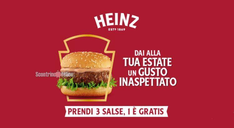 Cashback salse Heinz Dai alla tua estate un gusto inaspettato ricevi il rimborso della più cara